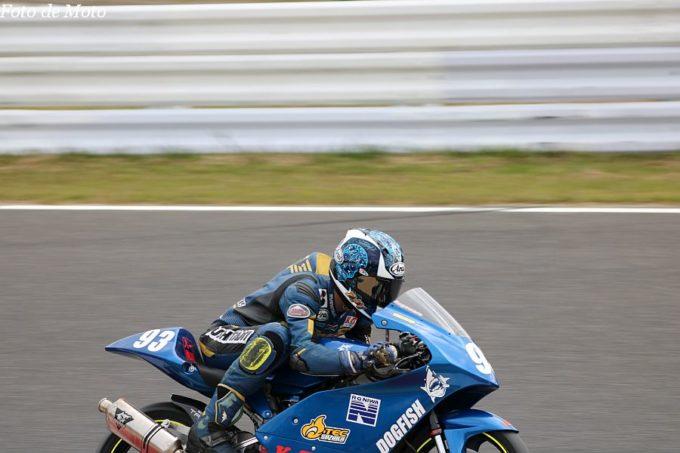 J-GP3 #93 RG NIWA with オーテック·スズカ 菅原 陸 Honda NSF250R