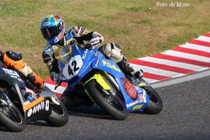 JP250 #42 OVERLAP PLUSONE 吉田 正徳 Honda CBR250RR