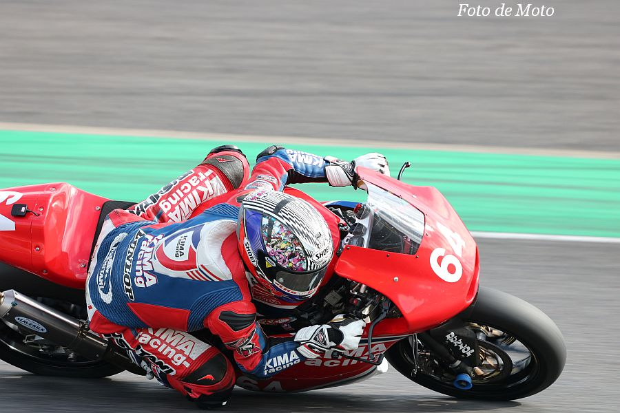 J-GP2 #64 KIMA Racing 伊達 悠太 Honda HP6