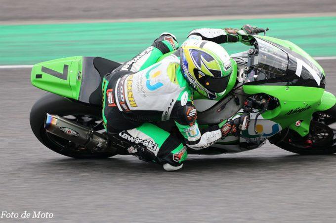 J-GP2 #7 will-raise racingRS-ITOH 石塚 健 Kawasaki ZX-6R