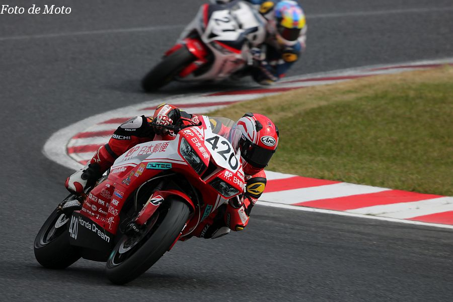 ST600 #420 日本郵便 HondaDream 亀井 駿 Honda CBR600RR