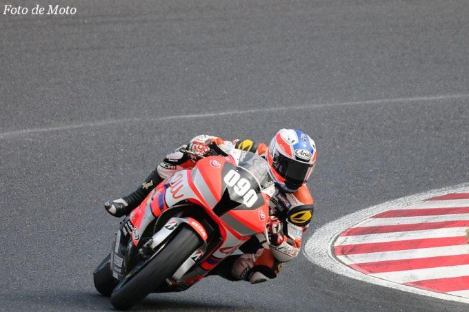 ST600 #090 au·テルルMotoUP RT 中村 龍之介 Honda CBR600RR