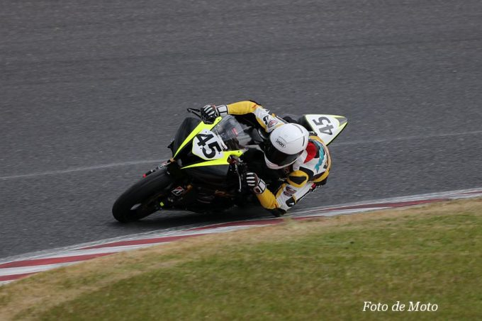 ST600 #45 OZT Racing with YSP名古屋西 丹羽 貴大 YAMAHA YZF-R6