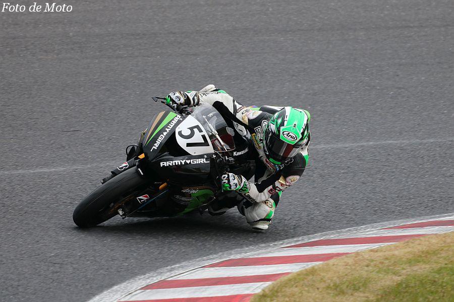 ST600 #57 奥田 教介 Team MF & Kawasaki Kawasaki ZX-6R