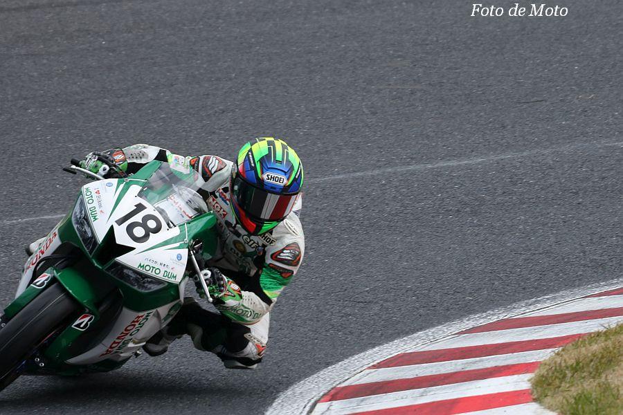ST600 #18 MOTOBUM HONDA 杉山 優輝 Honda CBR600RR