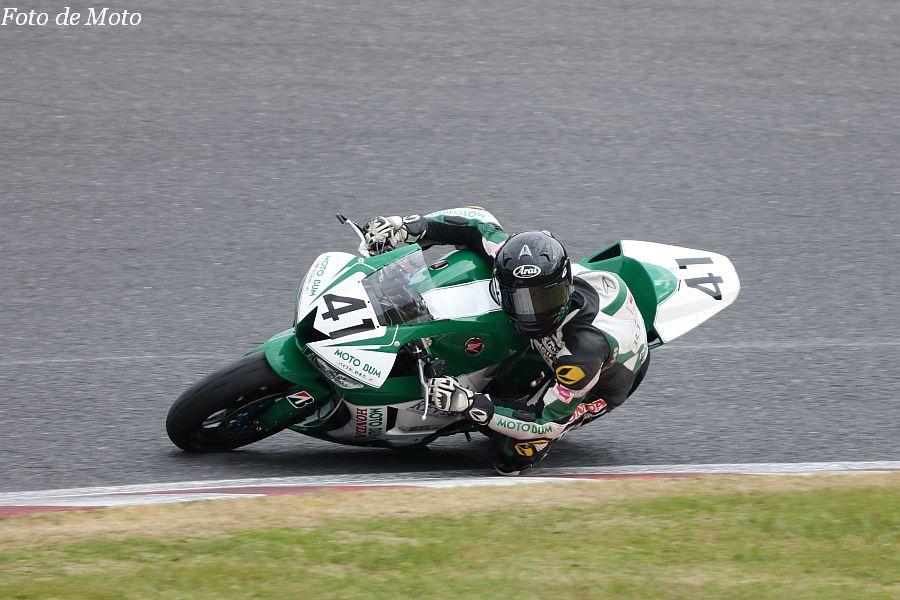 ST600 #41 MOTOBUM HONDA REVES 梅田 虎太郎 Honda CBR600RR