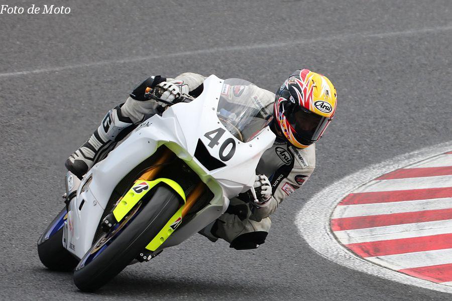 ST600 #40 Team Plusone 安田 毅史 YAMAHA YZF-R6