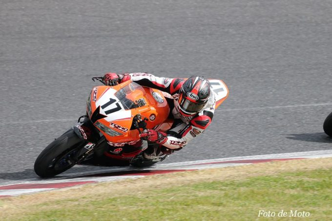 ST600 #17 TOHO Racing Club 行村 和樹 Honda CBR600RR