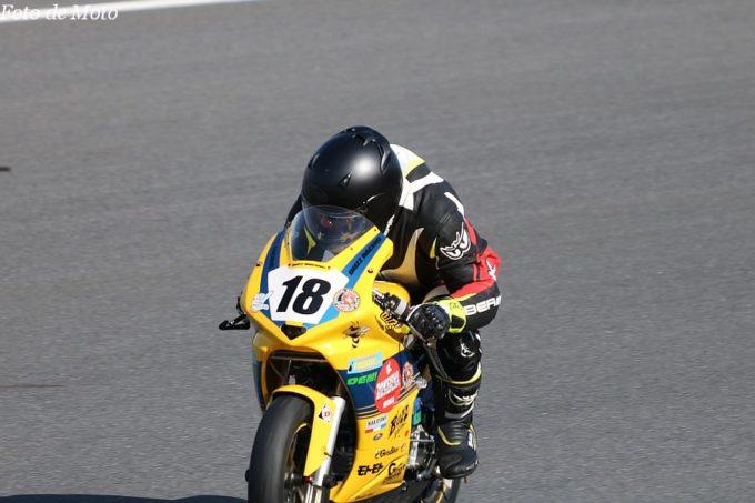 DE耐!クラス #18 バズレーシングWITHガールズバイカー モンキーR