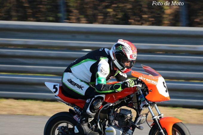 DE耐!クラス #5 オレンジハンドレットwithエイシーレーシング XR100モタード