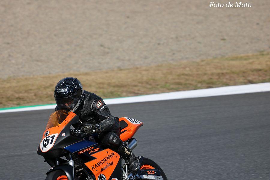 DE耐!クラス #151 亀仙人レーシング·チームS XR100モタード