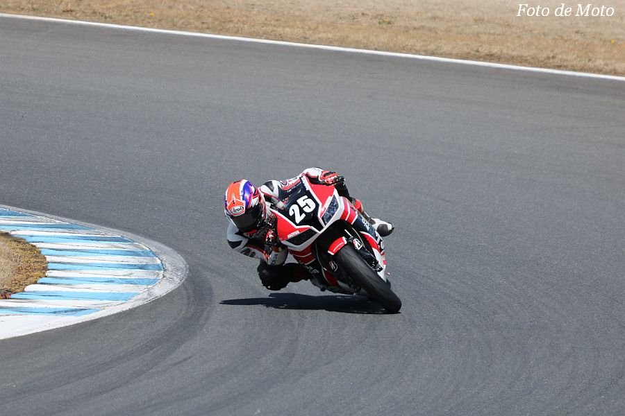 ST600 #25 Honda Suzuka Racing Team 日浦 大治朗 HONDA CBR600RR