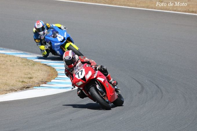 ST600 #77 Honda向陽会ドリームレーシングチーム 倉山 寿生 HONDA CBR600RR