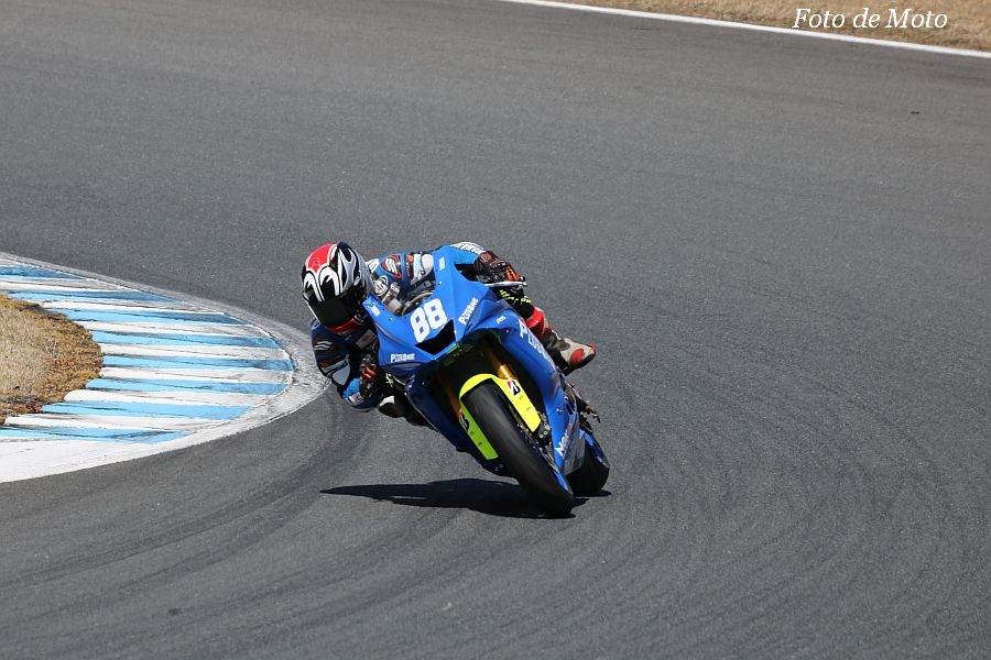 ST600 #88 TEAM PLUSONE with TARO 名越 公助 YAMAHA YZF-R6