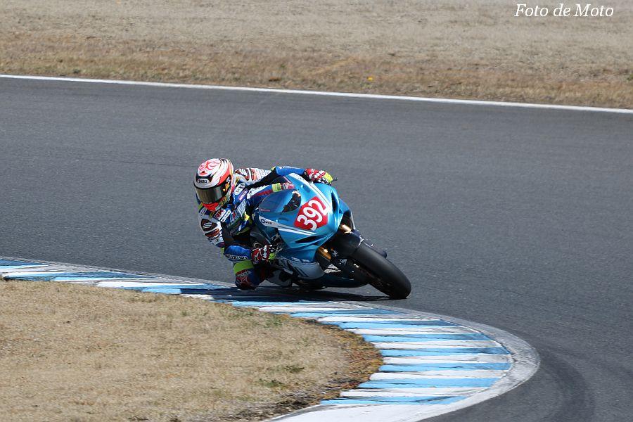 J-GP2 #392 ミクニ テリー&カリー 尾野 弘樹 SUZUKI GSX-R600