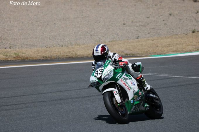 ST600 #33 MOTO BUM 櫻井 賢一 HONDA CBR600RR