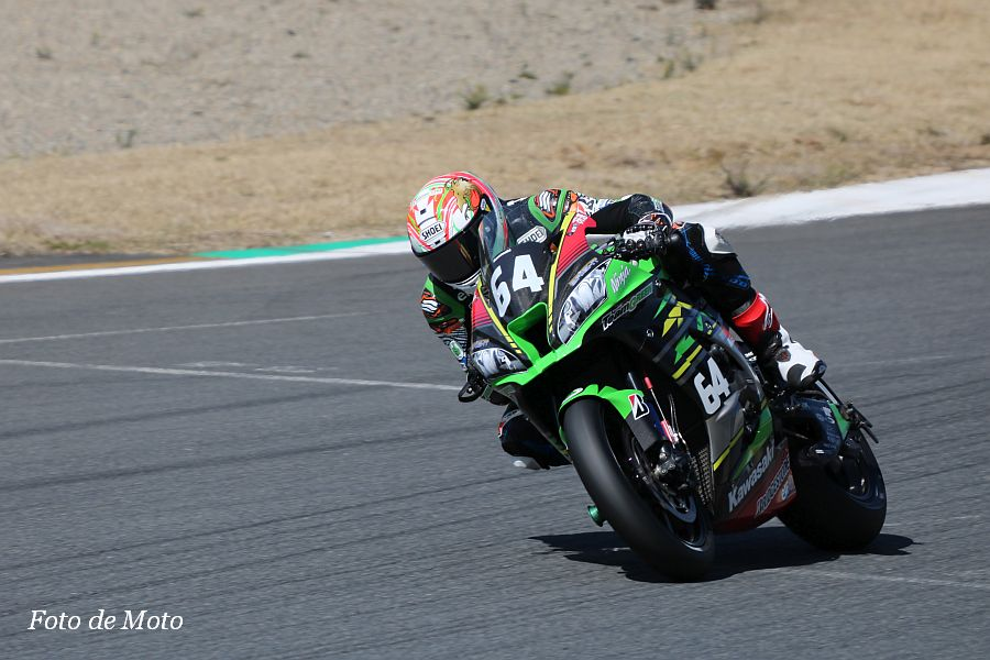 JSB1000 #64 Kawasaki Team GREEN 岩戸 亮介 KAWASAKI ZX-10RR