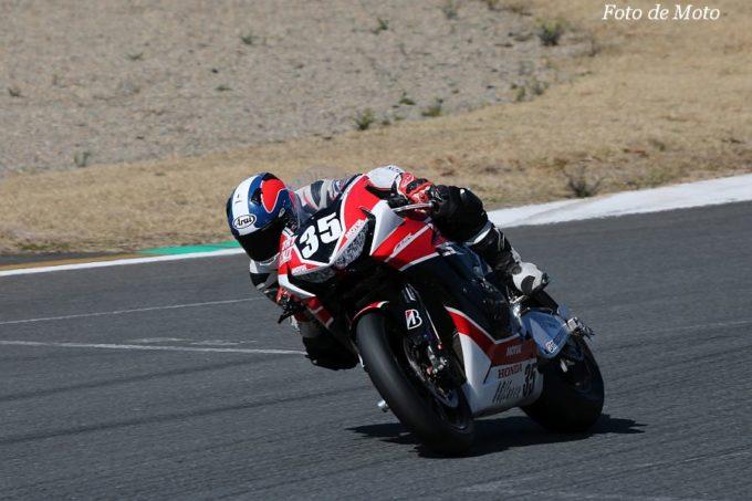 JSB1000 #35 Honda Suzuka Racing Team 亀井 雄大 HONDA CBR1000RR SP2