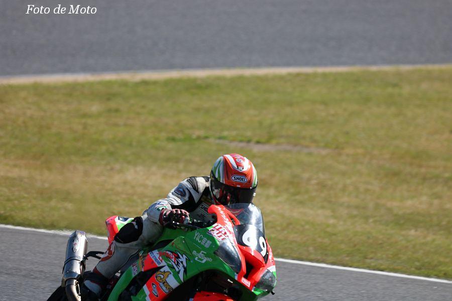 JSB1000 #69 山科カワサキ&オートレース宇部withYIC京都・BR 桐井 有希 Kawasaki ZX-10R