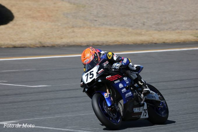 JSB1000 #75 YAMALUBE RACING TEAM  前田 恵助 YAMAHA YZF-R1