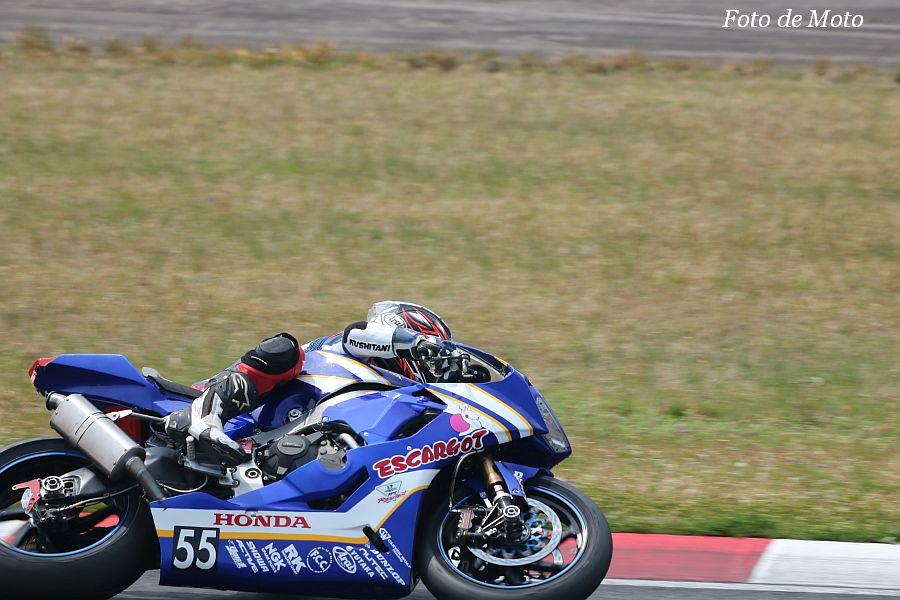 JSB1000 #55 Honda浜友会浜松エスカルゴ 中島 元気 Honda CBR1000RR