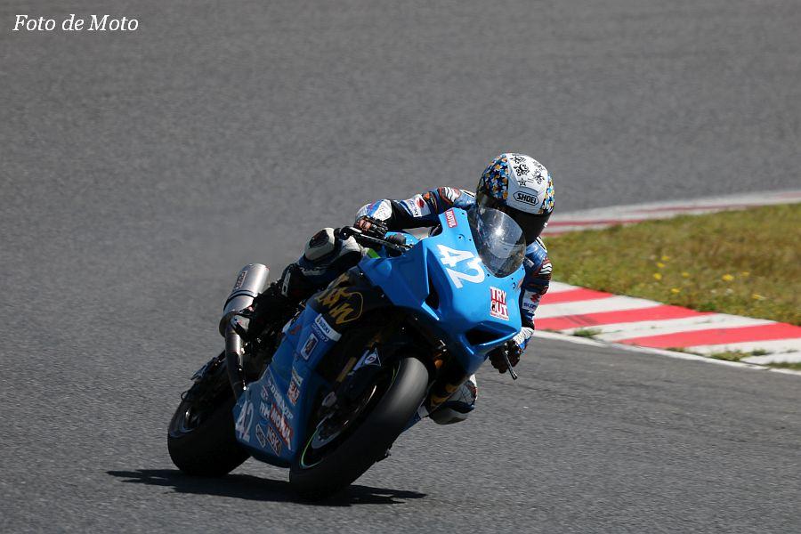 JSB1000 #42 浜松チームタイタン#1 武田 数馬 SUZUKI GSX-R1000