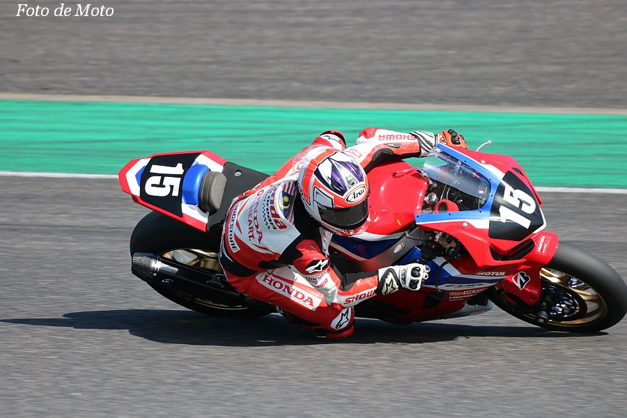 JSB1000 #15 Honda Asia-Dream Racing with SHOWA Zaqhwan Zaidi Honda CBR1000RR