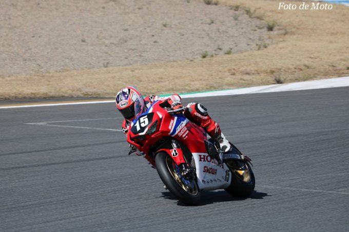 JSB1000 #15 Honda Asia-Dream Racing with SHOWA Zaqhwan Zaidi HONDA CBR1000RR SP2
