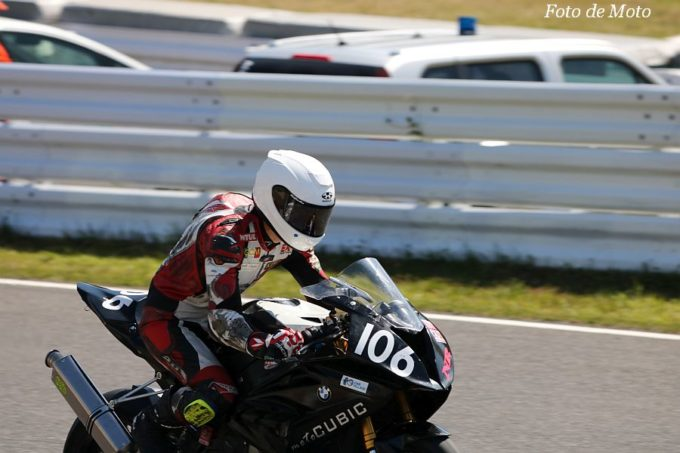 JSB1000 #106 moto CUBIC+Motorrad Toyota  森中 忍 BMW S1000RR