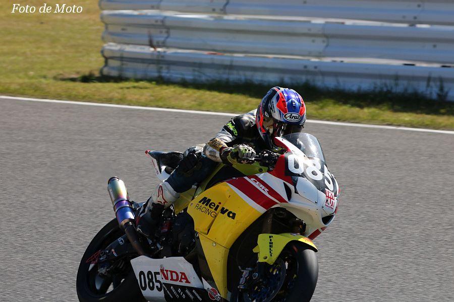 JSB1000 #085 Honda QCT 明和レーシングB 中山 友寛 Honda CBR1000RR