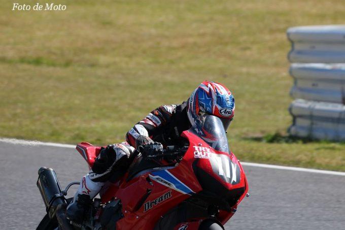 JSB1000 #111 Honda 向陽会ドリームレーシングチーム  榊原 真之介 Honda CBR1000RR