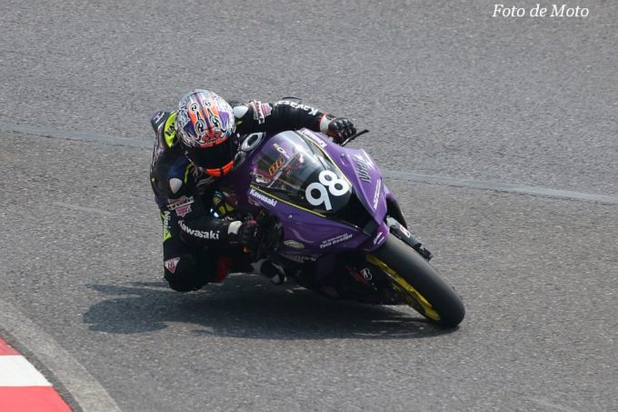 JSB1000 #98 チーム阪神ライディングスクール  佐野 勝人 Kawasaki ZX-10RR