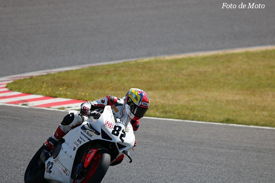JSB1000 #82 BANNER RACING 筒井 伸 DUCATI Panigare V4 R