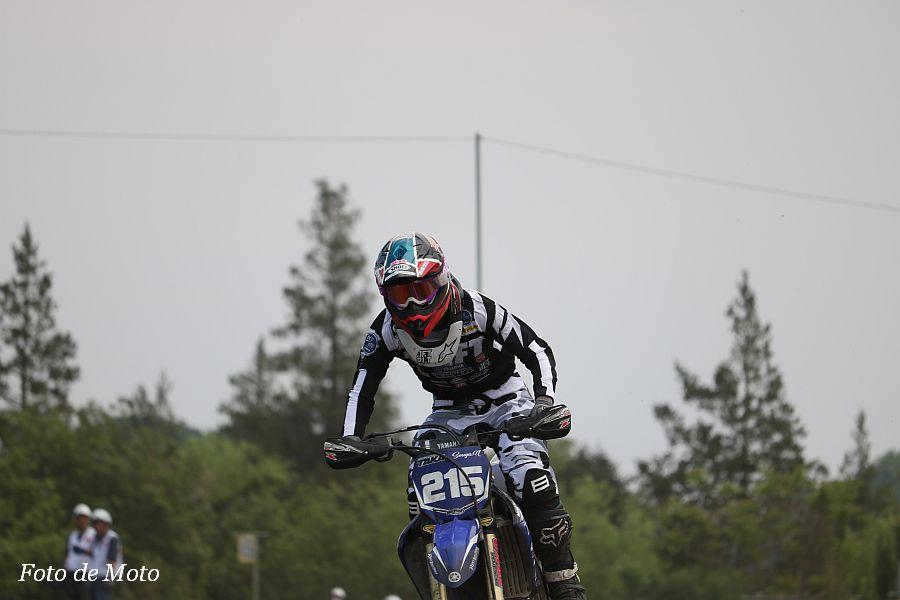 IB #215 bLU cRU レーシングチーム鷹 中島 漱也 Yamaha YZ250F