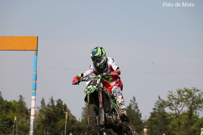 IA1 #4 Kawasaki Team GREEN 小方 誠 Kawasaki KX450-SR
