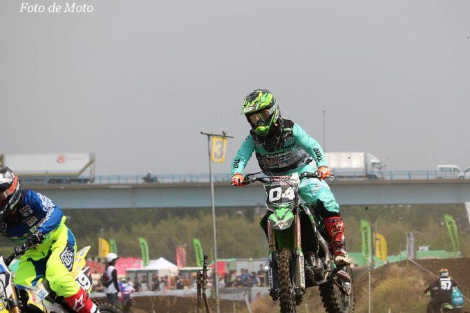 IA2 #04 グリーンクラブ ピュアテックレーシング  西條 悠人 Kawasaki KX250