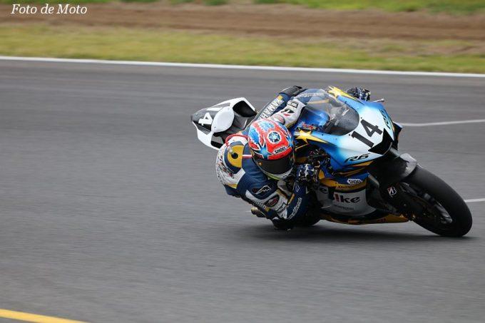 J-GP2 #14 Webikeチームノリックヤマハ  阿部 恵斗 Yamaha YN6