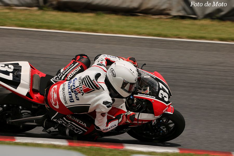 ST600 #37 Honda Suzuka Racing 長谷川 修大 Team HONDA CBR600RR