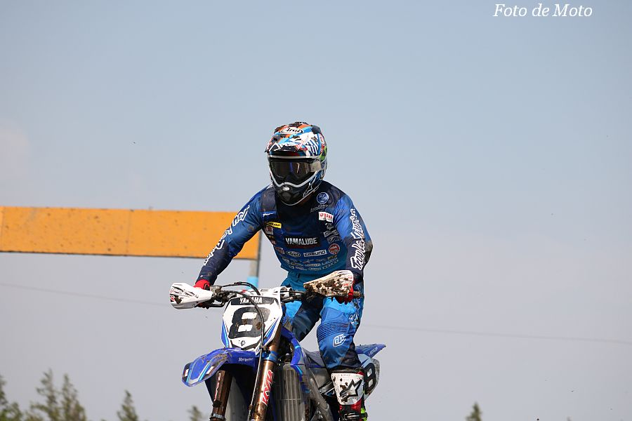 IA1 #8 TEAM YAMALUBE YAMAHA RACING 岡野 聖 Yamaha YZ450F