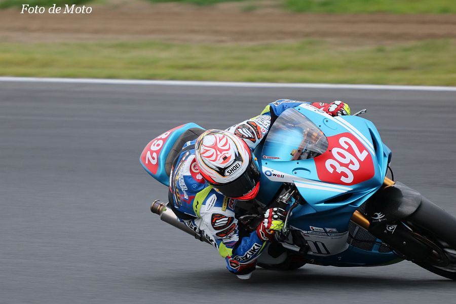 J-GP2 #392 ミクニ テリー&カリー 尾野 弘樹 Suzuki GSX-R