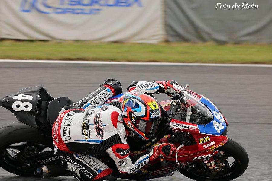 ST600 #48 ガレージL8 Racing Team 横山 尚太 YAMAHA YZF-R6