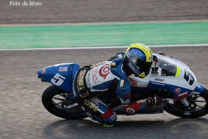 J-GP3 #5 Kohara Racing Team  藤井 謙汰 Honda NSF250R