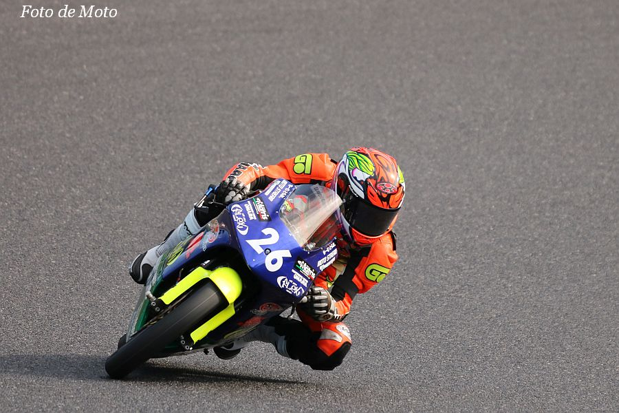 J-GP3 #26 FLEX Racing TEAM & MH OHARA 岸田 慶一 Honda NSF250R