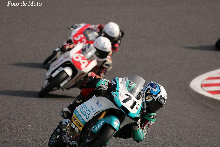 J-GP3 #71 Team P.MU 7C MIKUNI 成田 彬人 Honda NSF250R