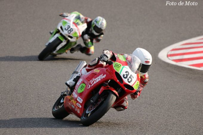 JP250 #35 Team KYOEI GO&FUN Racing  佐々木 將旭 Kawasaki Ninja250
