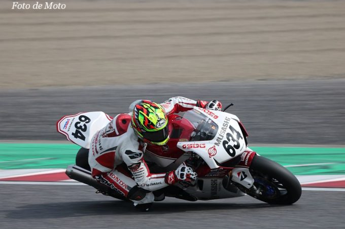JSB1000 #634 MuSASHi RT HARC-PRO.Honda  水野 涼 Honda CBR1000RR SP2
