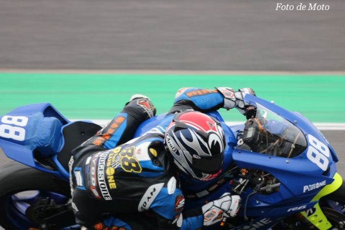 ST600 #88 TEAM PLUSONE with TARO  名越 公助 YAMAHA YAFR6
