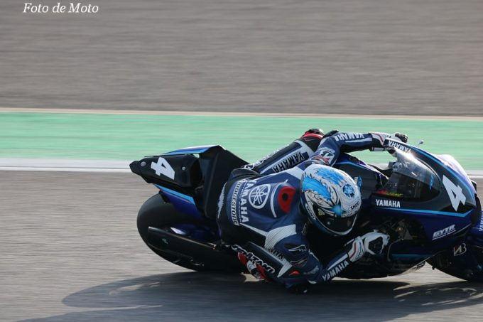 JSB1000 #4 YAMAHA FACTORY RACING TEAM  野左根 航汰 YAMAHA YZF-R1