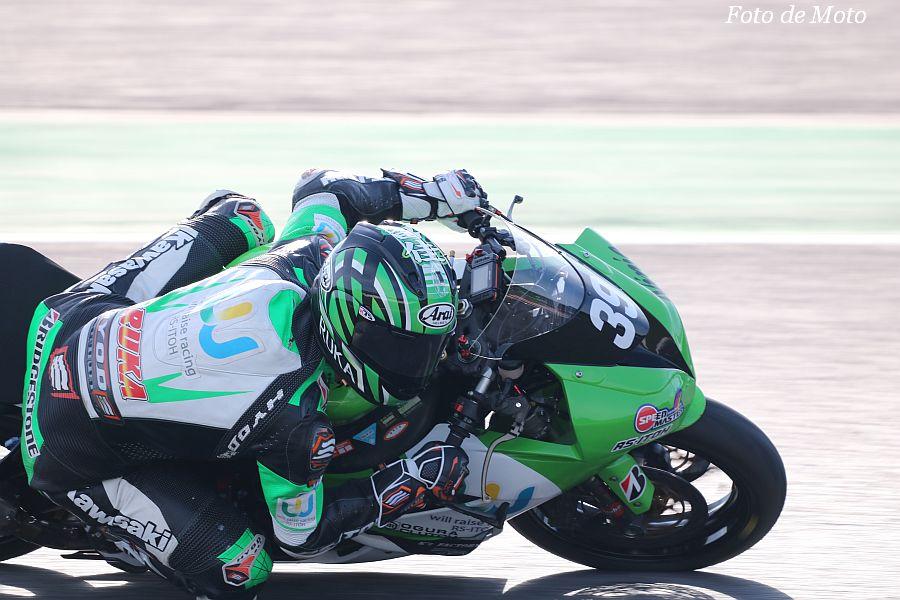 ST600 #39 will-raise racingRS-ITOH 和田 留佳 Kawasaki AX-6R