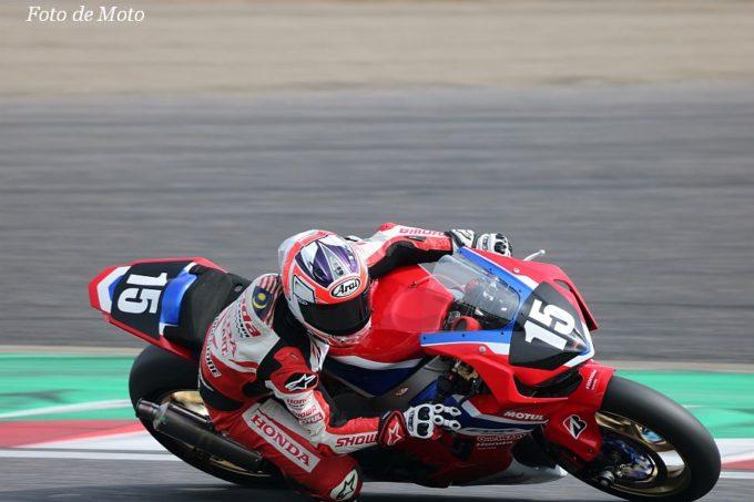 JSB1000 #15 Honda Asia-Dream Racing SHOWA  Zaqhwan Zaidi Honda CBR1000RR SP2